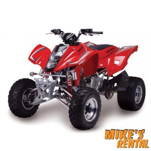 Hyosung TE 450cc - Mike's Rental Thasos