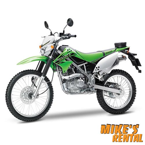 Kawasaki KLX 150cc - Mike's Rental Thasos