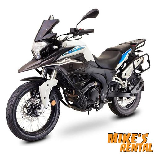 Zongzen RX3 250cc - Mike's Rental Thasos